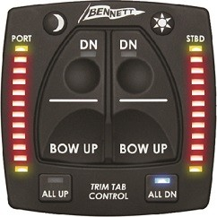 Bennett OBI9000H Integrated Helm Control For Hydraulic systems